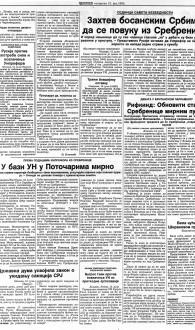 Politika 13.7.1995