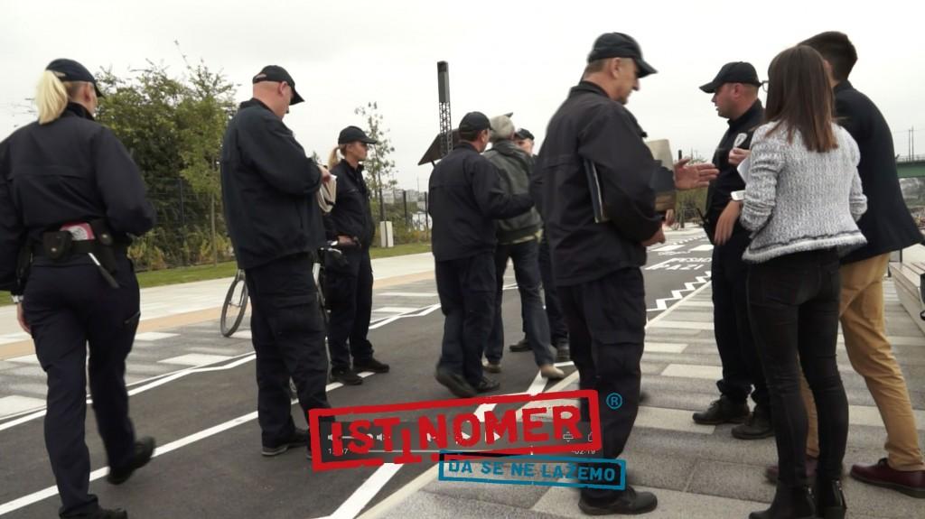 Komunalna policija zabranila novinarima rad posle poziva privatnog obezbeđenja restorana Savanova