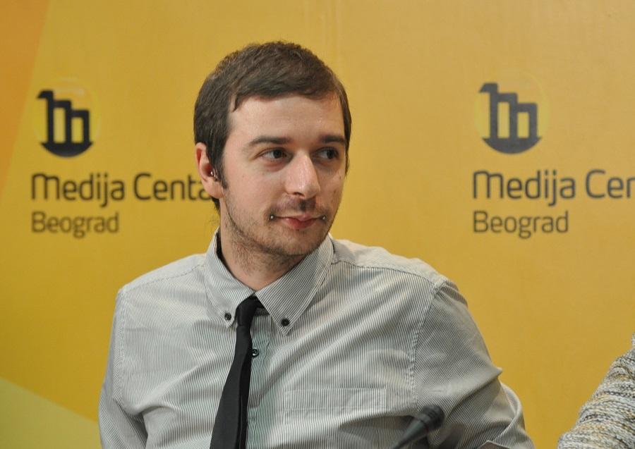 Stevan Dojčinović, glavni urednik KRIK-a