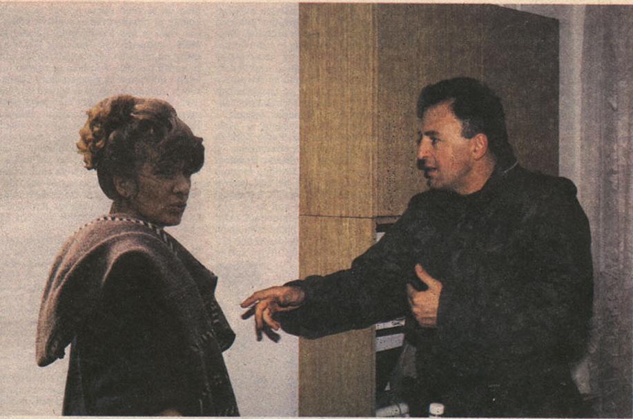 Poslaničko pitanje: Dada Vujasinović sa Željkom Ražnatovićem Arkanom, foto: Zoran Tatar