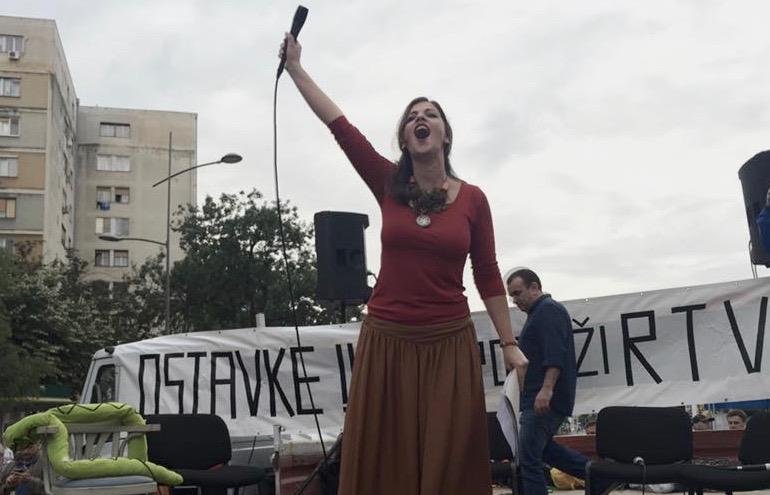 Protest Podrži RTV u Novom Sadu