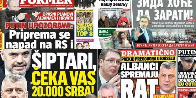 Foto: Novosti, Kurir, Blic, Informer / Preuzeto sa index.hr