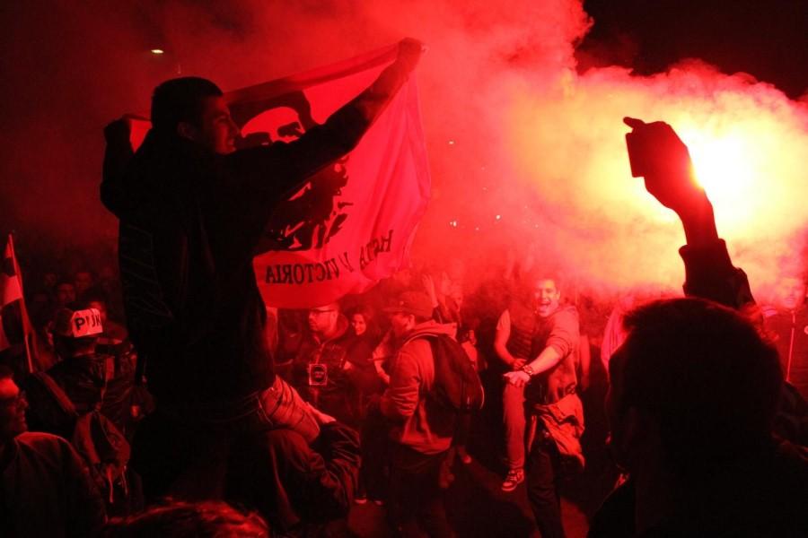 Mesto: Beograd Datum: 04.04.2017 Dogadjaj: POLITIKA - protestna šetnja graðana nezadovoljnih rezultatima predsednièkih izbora Licnosti: