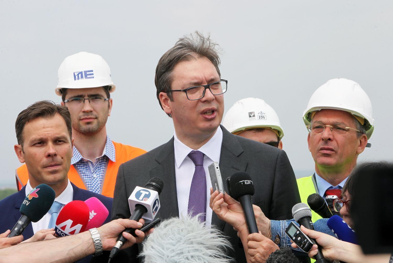 Aleksandar Vučić o medijima; Foto: Fonet/ Slobodan Miljević