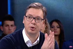 Aleksandar Vučić (foto: youtube printscreen) / Preuzeto sa uns.org.rs