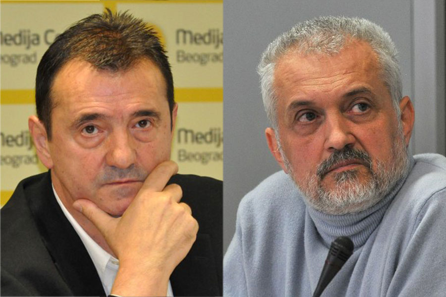 Slaviša Lekić i Nino Brajović; Foto: mc.rs