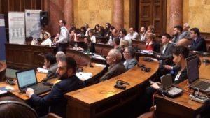 Panel Nacionalnog konventa o Evropskoj uniji (foto: FoNet)