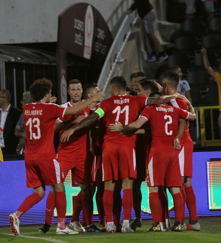 Mesto: Beograd<br /> Datum: 10.09.2018<br /> Dogadjaj: SPORT/FUDBAL/EUFA - utakmica Srbija - Rumunija u 2. kolu UEFA Lige nacija, 2:2<br /> Licnosti: